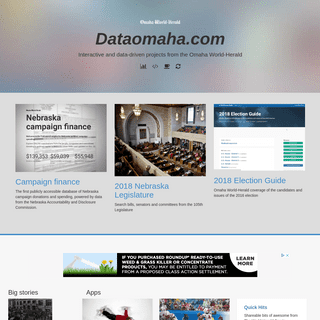 Dataomaha.com - Interactive databases and information from The Omaha World-Herald