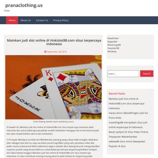 pranaclothing.us – Poker