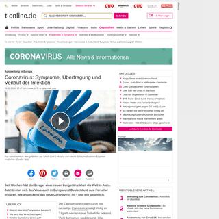 Coronavirus in Deutschland- Symptome, Verlauf und Ansteckung der Infektion