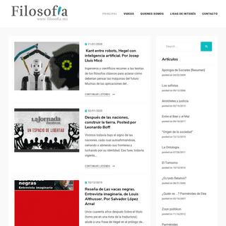 Sitio de America Latina dedicado a la filosofia, la crítica y el debate.