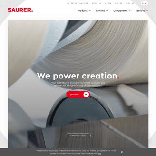 Homepage - Saurer