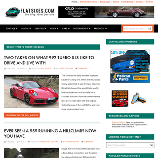 FLATSIXES - The blog about Porsche