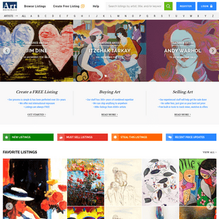 Art Brokerage - Buy and Sell Fine Art - Art Dealers and Artwork for Sale