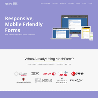 HTML Form Builder Online, PHP Form Creator - MachForm