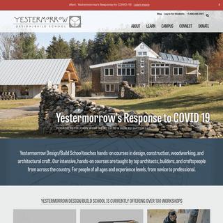 Yestermorrow Design-Build School