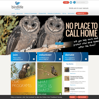 Home - BirdLife