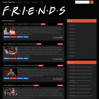 Friends Streaming - Tous les épisodes de Friends en streaming gratuitement