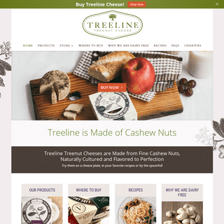 Vegan Cheese - Dairy Free Cheeses Made from Cashews - Treeline Treenut Cheese is a Cultured Nut Product
