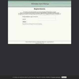 ArchiveBay.com - miamko.com - Minden Ami Könyv