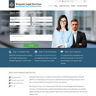 Home - Request Legal Services