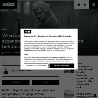 Wiedźmin powraca. Netflix ogłosił rozpoczęcie produkcji i przedstawił nowych aktorów - Noizz