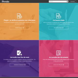 Pimido - entraide et documents pour les étudiants