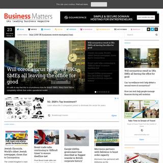Business Matters - UK's leading SME business magazine