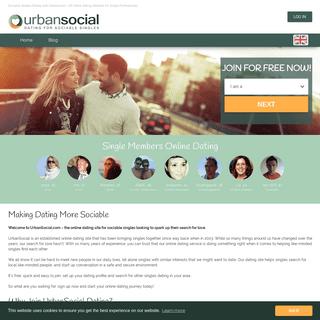 ArchiveBay.com - urbansocial.com - Online Dating UK - Sociable Singles Dating with UrbanSocial