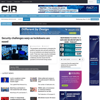 CIR Magazine - Home