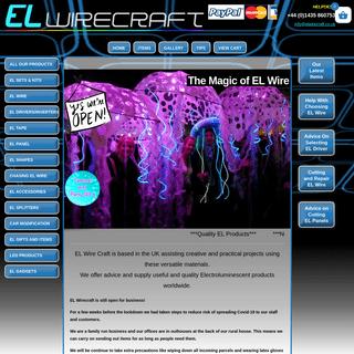 ArchiveBay.com - elwirecraft.co.uk - EL Wire and EL Tape - EL Wire Craft