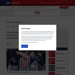 Championship highlights and round-up- West Brom extend lead, Brentford beaten - Football News - Sky Sports