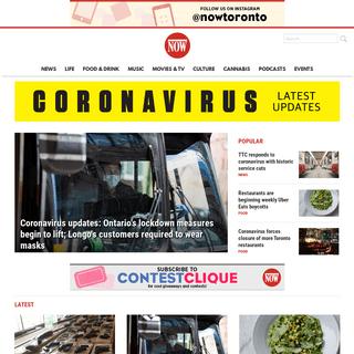 ArchiveBay.com - nowtoronto.com - Everything Toronto - NOW Magazine