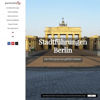 Stadtrundfahrten Berlin - Panorama-b - Stadtführungen Berlin