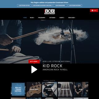 ArchiveBay.com - radiobob.de - RADIO BOB! national - Wenn Rock, dann BOB!