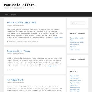 Penisola Affari – Attività Commerciali in Penisola Sorrentina
