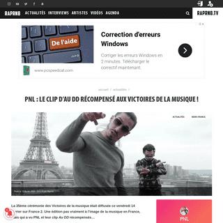 PNL - le clip d'Au DD récompensé aux Victoires de la musique !