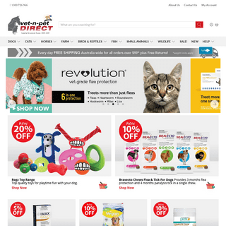 vet-n-pet DIRECT - Australia's Online Pet Supplies Experts