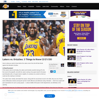 ArchiveBay.com - www.nba.com/lakers/news/200221-lakers-grizzlies-3-things-to-know - Lakers vs. Grizzlies- 3 Things to Know (2-21-20) - Los Angeles Lakers