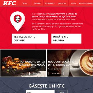 Kentucky Fried Chicken - KFC Romania