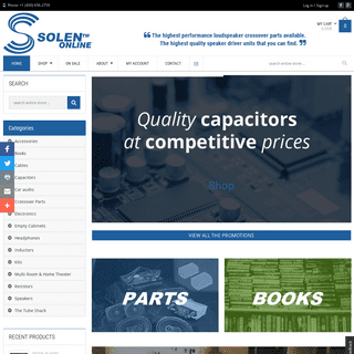 Solen - The world leading producer of -high-end- crossover components