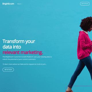 Brightloom - Customer Growth Platform