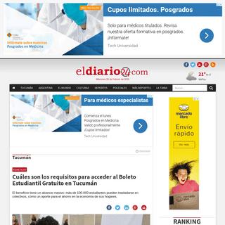 ArchiveBay.com - www.d24ar.com/nota/tucuman/445997/cuales-son-requisitos-para-acceder-al-boleto-estudiantil-gratuito-tucuman.html - Cuáles son los requisitos para acceder al Boleto Estudiantil Gratuito en Tucumán - El Diario 24
