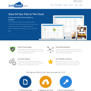 JustCloud -- Online Backup, Computer Backup and PC Backup for Home and Business from JustCloud