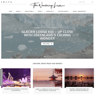 The Wandering Lens - Travel Photography Guides - Photo Tips and Travel Guides for Photographers - Photography Locations + Photog
