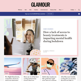 Glamour UK - Beauty and Lifestyle Trends, Hair and Makeup Inspiration