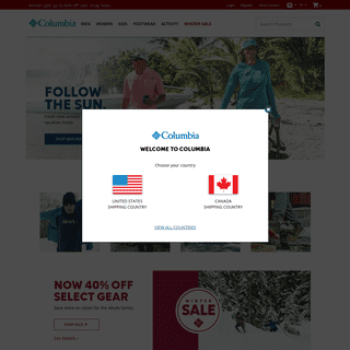 Shop Direct for Jackets, Pants, Shirts & Shoes - Columbia Sportswear