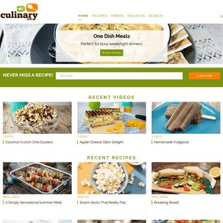 Culinary.net Recipes
