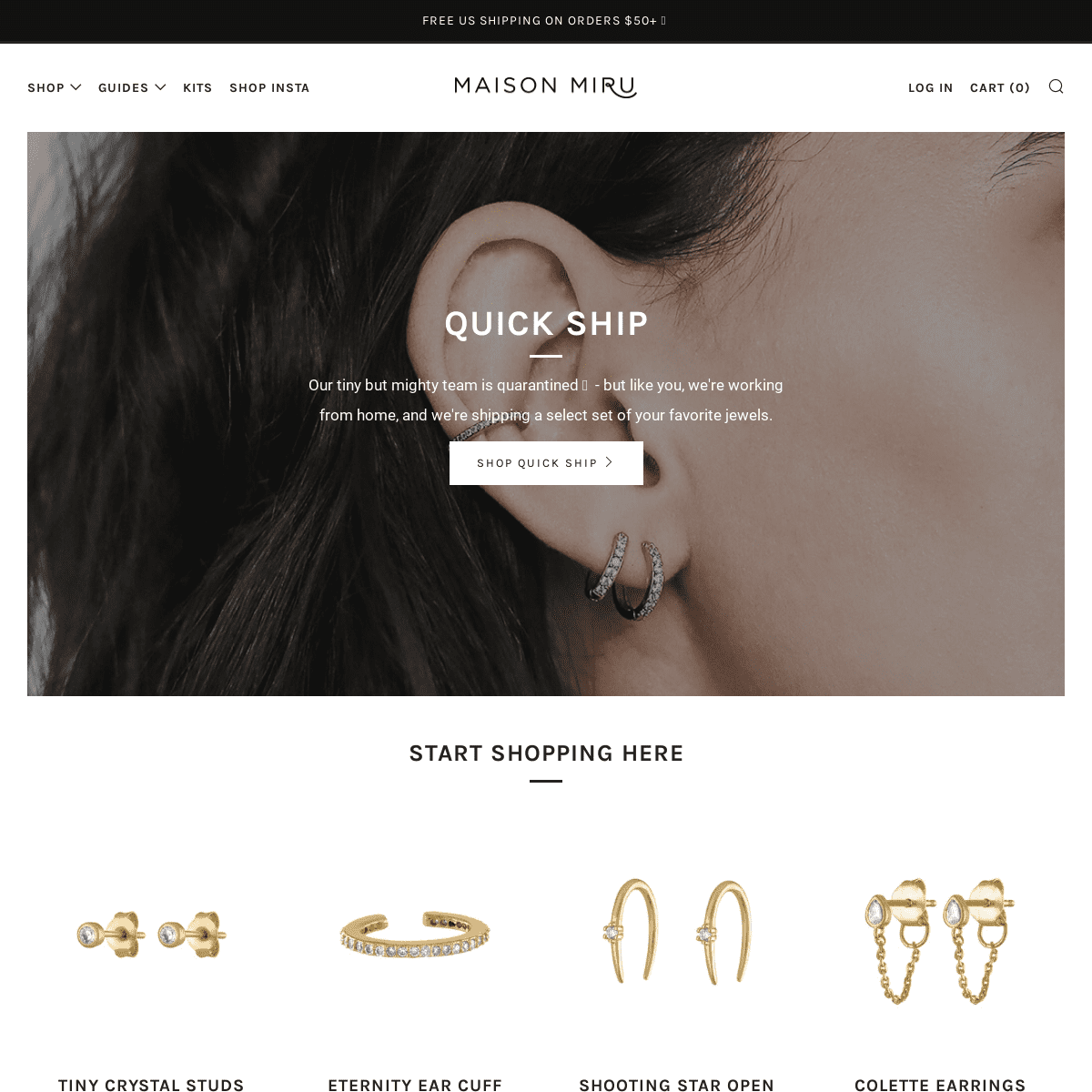 Jewelry is Love Made Visible - Maison Miru