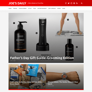 Men's Lifestyle Blog - Travel, Style, Tech, Food & Drink - Joe's Daily