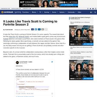 ArchiveBay.com - comicbook.com/gaming/2020/02/22/fortnite-season-2-chapter-2-travis-scott/ - It Looks Like Travis Scott Is Coming to Fortnite Season 2