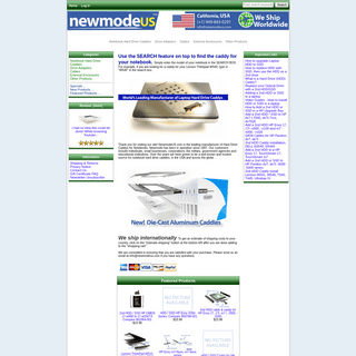 NewmodeUS, Hard Drive Caddys for Notebooks