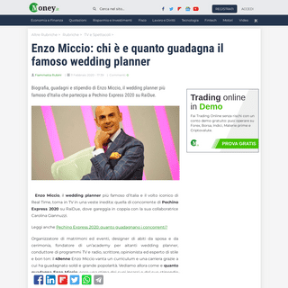 Enzo Miccio- chi è e quanto guadagna il famoso wedding planner