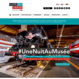 Cité du Train - Patrimoine SNCF - Musée - Mulhouse - Alsace