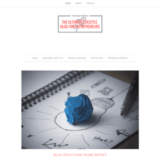 The Phat Startup – The Ultimate Lifestyle Blog for Entrepreneurs