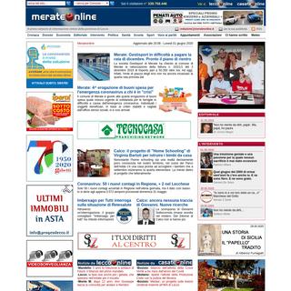 Merate Online - Il portale meratese di cultura, cronaca e politica ragionata