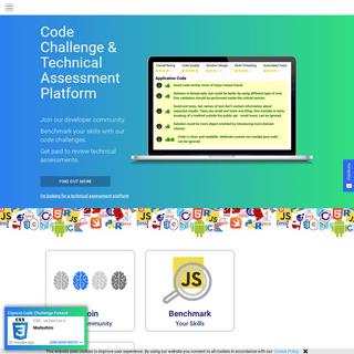 Technical Assessment & Code Challenge Platform - Geektastic