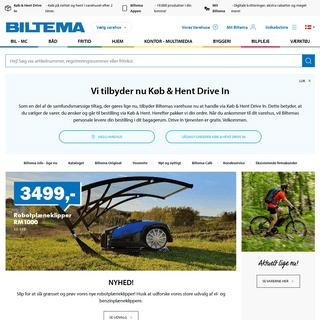 Biltema – Hele familiens varehus - Biltema.dk