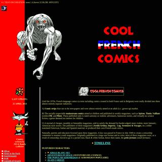Cool French Comics