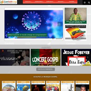 CAMFAITH.ORG - Toute l'actualité chrétienne au Cameroun