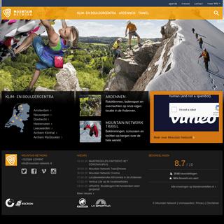 Mountain Network- al 30 jaar aan de top in de klim- en bergsport